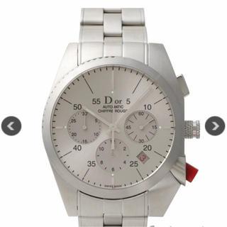 クリスチャンディオール(Christian Dior)のクリスチャンディオール シフルルージュ クロノグラフ 自動巻き(腕時計(アナログ))