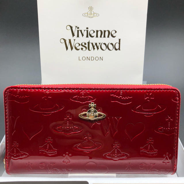 Vivienne Westwood - 【新品・正規品】ヴィヴィアンウエストウッド 長財布 310 赤 エナメルの通販 by NY's shop|ヴィヴィアンウエストウッドならラクマ