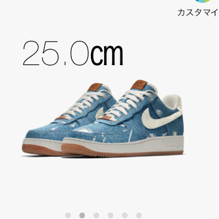 ナイキ(NIKE)のair force 1 low Levi's 25.0(スニーカー)