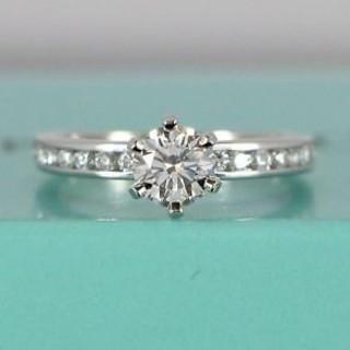 ティファニー(Tiffany & Co.)のティファニー ソリティアリング 0.61カラット(リング(指輪))