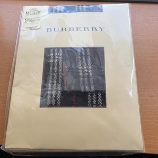 バーバリー(BURBERRY)のバーバリー ブラックチェック フットレス タイツ レギンス(タイツ/ストッキング)