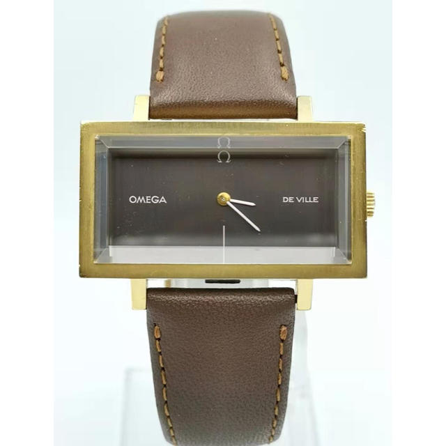 OMEGA - OMEGA  オメガ  De Ville  ワイド スクエア  時計の通販 by MAU|オメガならラクマ