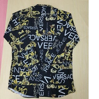 ヴェルサーチ(VERSACE)のメンズ 長袖シャツ Versace ヴェルサーチ 個性(Tシャツ/カットソー(半袖/袖なし))