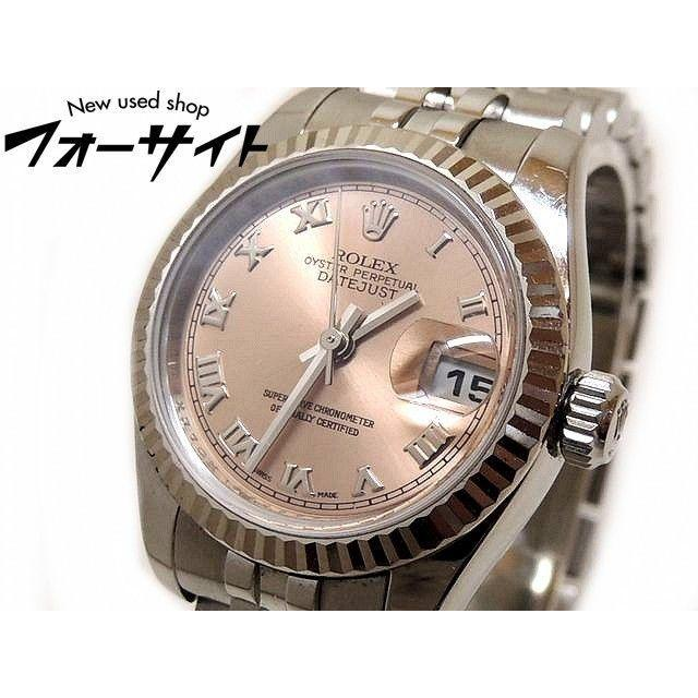 ROLEX - ロレックス■179174 M番 デイトジャスト ピンク SS/K18WG 時計の通販 by FORESIGHT's shop|ロレックスならラクマ