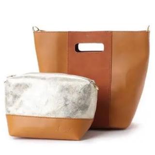 ケービーエフ(KBF)の新品♡アーバンリサーチ 2way bag ブラウン 大幅お値下げ‼️(ショルダーバッグ)