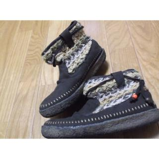 コロンビア(Columbia)の23.5cm★コロンビアColumbia★かわいい秋冬ブーツ茶色USED(ブーツ)