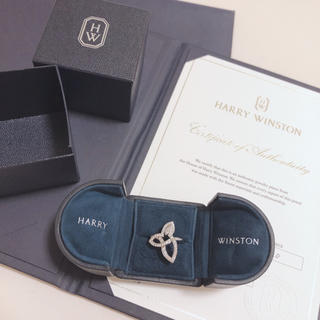 ハリーウィンストン(HARRY WINSTON)の♡ HARRY WINSTON リリークラスターリング ♡(リング(指輪))