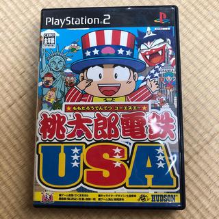 プレイステーション2(PlayStation2)のPS2 ソフト 桃太郎電鉄 USA ソニー 桃鉄(家庭用ゲームソフト)