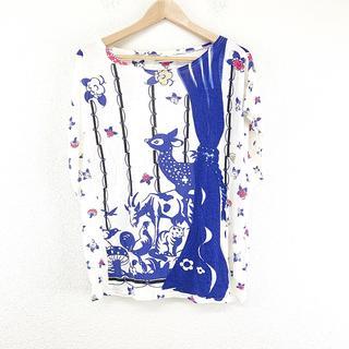ツモリチサト(TSUMORI CHISATO)の美品 TSUMORI CHISATO ツモリチサト Tシャツ 半袖 M 人気(Tシャツ(半袖/袖なし))