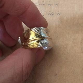 ゴローズ(goro's)の指輪 925シルバー 先金フェザーリング ゴローズ好きに 手作業(リング(指輪))