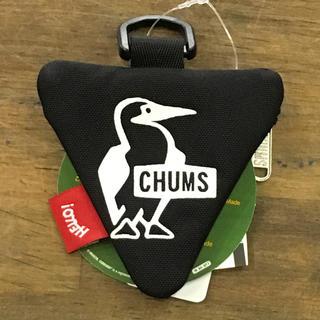 チャムス(CHUMS)の【新品】三角形が可愛い!チャムスの手のひらサイズコインケース。(コインケース/小銭入れ)