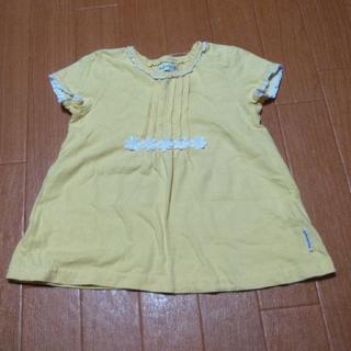 ビケット(Biquette)のBiquette トップス 黄色 95(Tシャツ/カットソー)