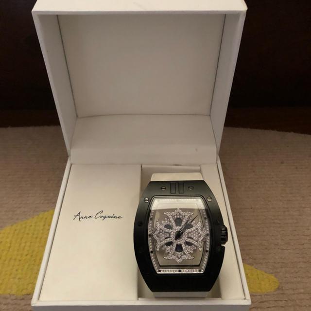 送料無料!! 美品アンコキーヌ  クルクル腕時計 メンズ BIGサイズ スワロの通販 by 天膳's shop|ラクマ