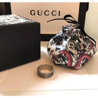 グッチ(Gucci)のグッチ ダブルG シルバー リング 13号(リング(指輪))
