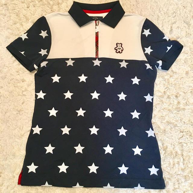 Callaway Golf(キャロウェイゴルフ)の【暇人さん専用】レディースポロシャツ レディースのトップス(ポロシャツ)の商品写真