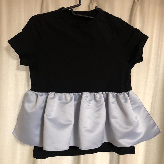BARNEYS NEW YORK(バーニーズニューヨーク)のyoko chan  バイカラーT レディースのトップス(Tシャツ(半袖/袖なし))の商品写真