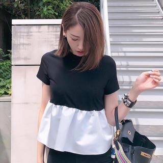 バーニーズニューヨーク(BARNEYS NEW YORK)のyoko chan  バイカラーT(Tシャツ(半袖/袖なし))