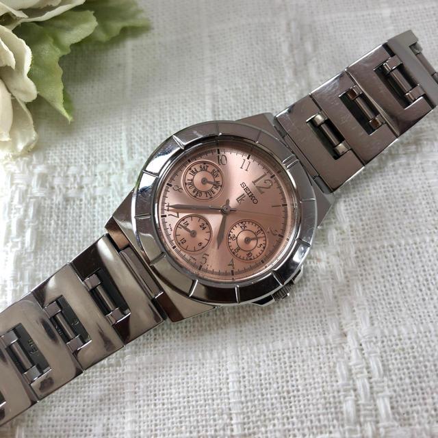 SEIKO - セイコー ルキア❤︎ピンク腕時計 【電池交換済み】 の通販 by  シータshop    |セイコーならラクマ