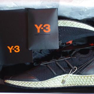 ワイスリー(Y-3)の確実正規品 25cm Adidas Y-3 RUNNER 4D Ⅱ(スニーカー)