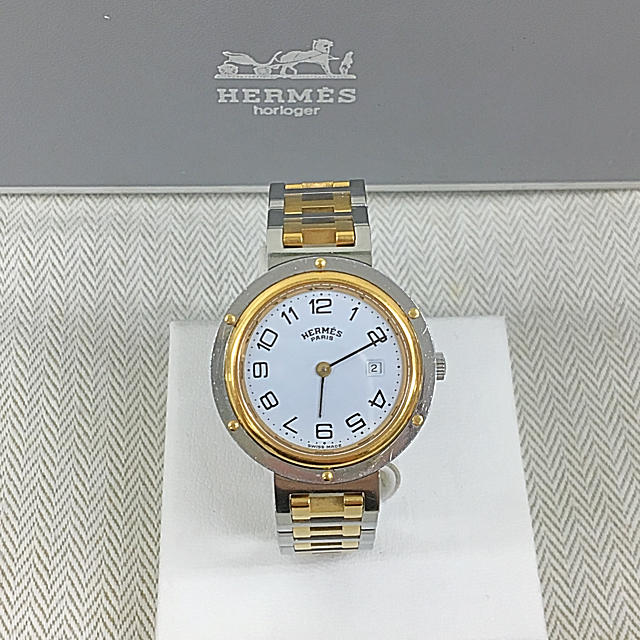 Hermes - 正規品 HERMES エルメス クリッパー 腕時計 (正規箱付き)送料込みの通販 by 和's shop|エルメスならラクマ