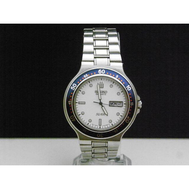 SEIKO - SEIKO SQ100 腕時計 デイデイト 蛍光針 レア文字盤の通販 by Arouse 's shop|セイコーならラクマ