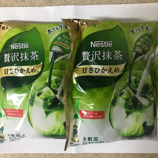 Nestle - ネスレ 贅沢抹茶 ポーション