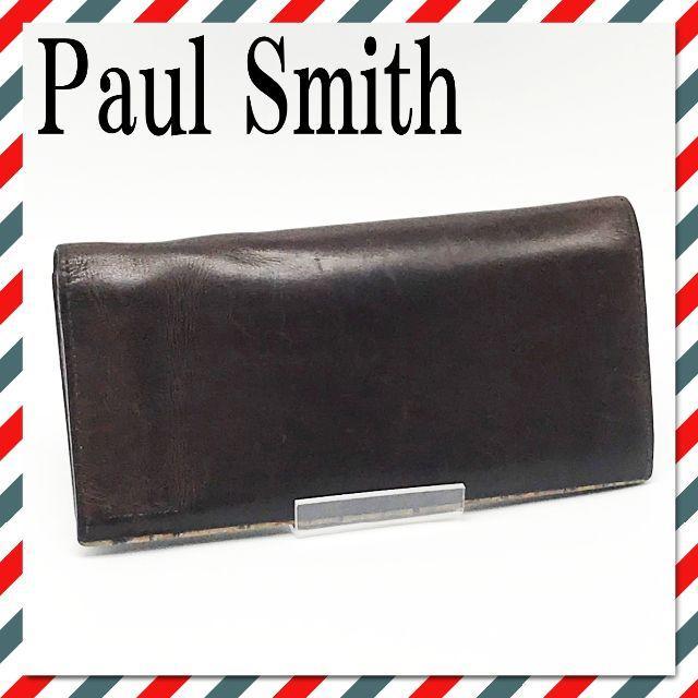 Paul Smith - K402/Paul Smith ポールスミス 長財布 レザー メンズ 匿名配送の通販 by 中古靴、小物・バッグ類、ブランド専門店|ポールスミスならラクマ