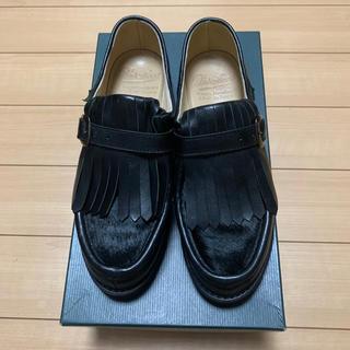 パラブーツ(Paraboot)の極美品 パラブーツ レディース ニヨン/NYON サイズ 5(ローファー/革靴)