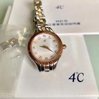 ヨンドシー(4℃)のヨンドシー 4°c腕時計 レディース(腕時計)