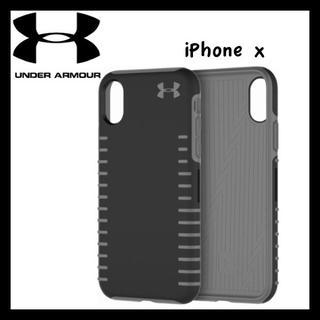 アンダーアーマー(UNDER ARMOUR)の日本未入荷★アンダーアーマー iPhoneX/XS ケース ブラック(iPhoneケース)
