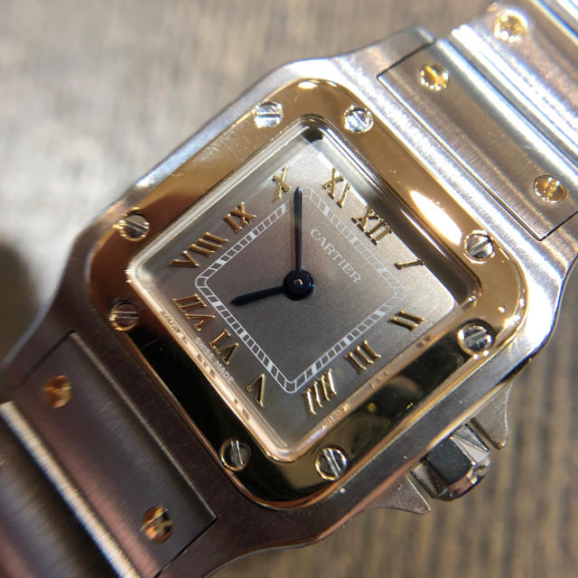 Cartier - 美品 カルティエ サントス SM K18YG SSの通販 by KihaTA|カルティエならラクマ