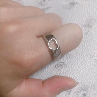 ジーナシス(JEANASIS)の⌘ハード リング シルバー フリーサイズ(リング(指輪))