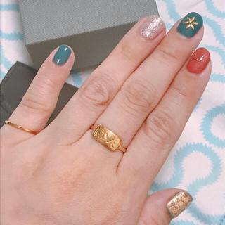 ヴィヴィアンウエストウッド(Vivienne Westwood)の【専用】ヴィヴィアン  リング ゴールド サイズS(リング(指輪))