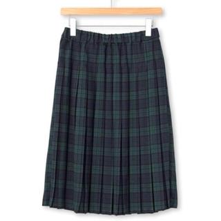 ジエンポリアム(THE EMPORIUM)のプリーツ チェック スカート(ひざ丈スカート)