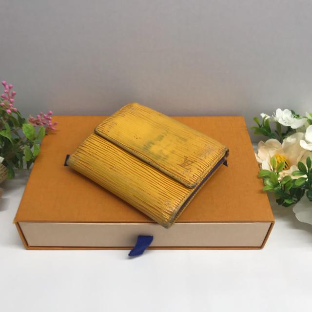 LOUIS VUITTON - ❤️正規品❤️ ルイヴィトン ポルトモネビエカルトク 二つ折り財布 エピ 黄色の通販 by きゅうきゅうショップ|ルイヴィトンならラクマ