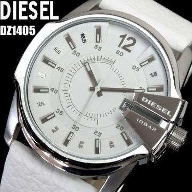 DIESEL - ディーゼル時計☆人気抜群!! 存在感溢れる迫力と美の傑作!☆爽やかスノーホワイトの通販 by ハワイ2's shop|ディーゼルならラクマ