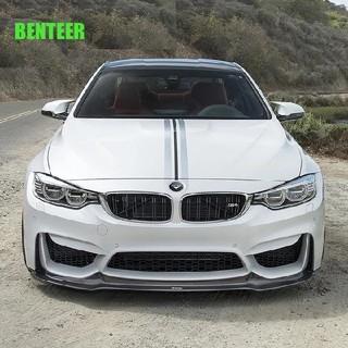 BMW - BMW ボンネットステッカー ストライプ シルバー×ブラック