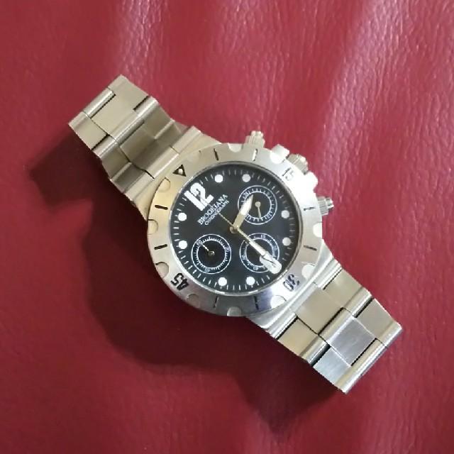 ノーブランド クロノグラフ 腕 時計の通販 by ラン's shop|ラクマ