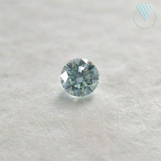 【runanoa様】0.039 ct L.Green VS2 天然 グリーン(リング(指輪))