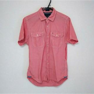 トミーヒルフィガー(TOMMY HILFIGER)のTOMMY HILFIGER トミー ヒルフィガー XS サイズ ピンク 半袖(Tシャツ/カットソー(半袖/袖なし))