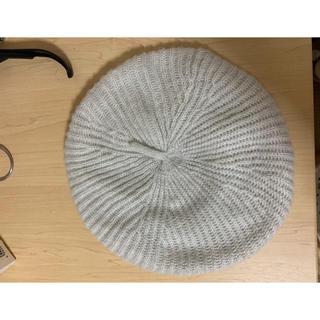 エイチアンドエム(H&M)のH&M 新品未使用 ニットベレー帽(ハンチング/ベレー帽)