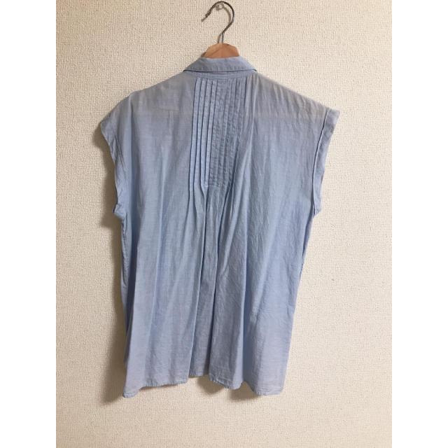 GAP(ギャップ)のGAP ノースリーブシャツ レディースのトップス(シャツ/ブラウス(半袖/袖なし))の商品写真