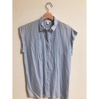 ギャップ(GAP)のGAP ノースリーブシャツ(シャツ/ブラウス(半袖/袖なし))