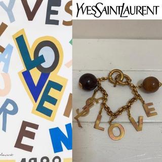 サンローラン(Saint Laurent)のYVES SAINT LAURENT VINTAGE80s LOVEブレスレット(ブレスレット/バングル)
