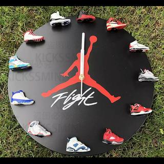ナイキ(NIKE)のkicksmini エア ジョーダン 壁掛け時計 Air Jordan(スニーカー)