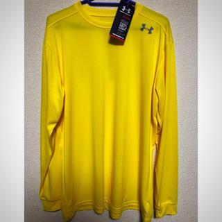 アンダーアーマー(UNDER ARMOUR)の【新品】アンダーアーマー ロングシャツ サイズL(Tシャツ/カットソー(半袖/袖なし))