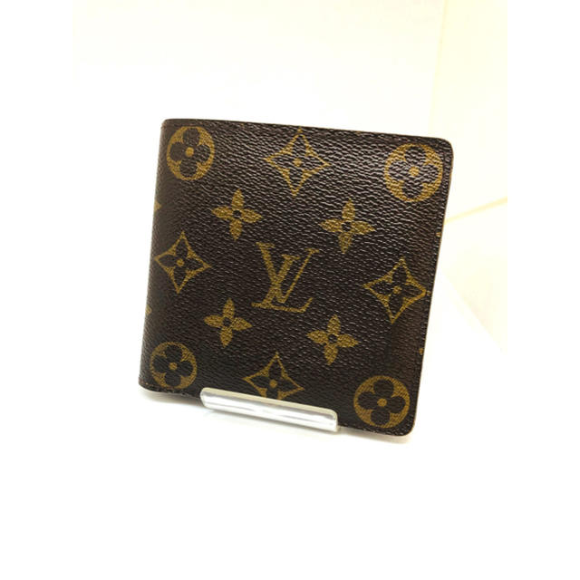 LOUIS VUITTON - LouisVuitton/ルイヴィトン モノグラム マルコ 折財布 美品 正規品の通販 by J's shop|ルイヴィトンならラクマ