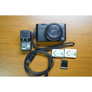 ソニー(SONY)の初代RX100(コンパクトデジタルカメラ)