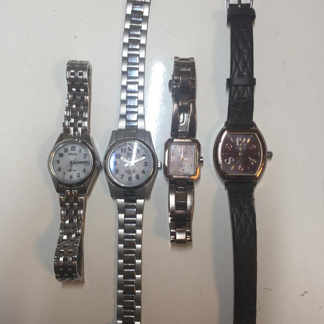 CITIZEN - CITIZEN レディース 腕時計 まとめ売り 4本セットの通販 by Tanaka  プロフィール確認!|シチズンならラクマ