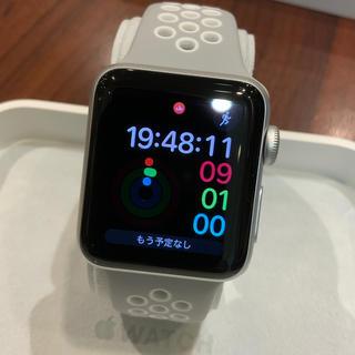 アップルウォッチ(Apple Watch)の(純正品) Apple Watch series3 38mm GPS(腕時計(デジタル))